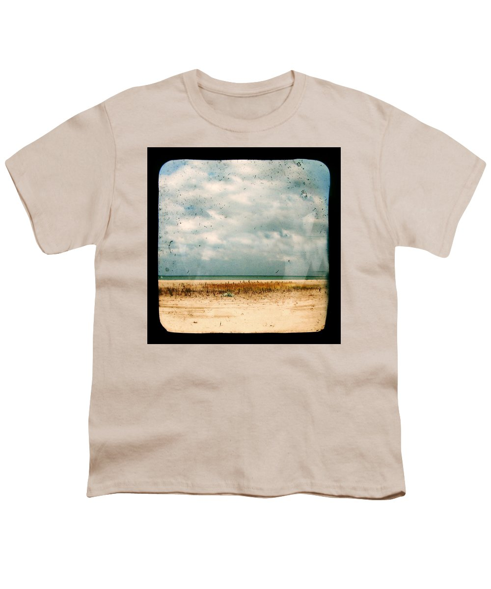 Dipasquale Youth T-Shirt featuring the photograph I Honestly Believed by Dana DiPasquale