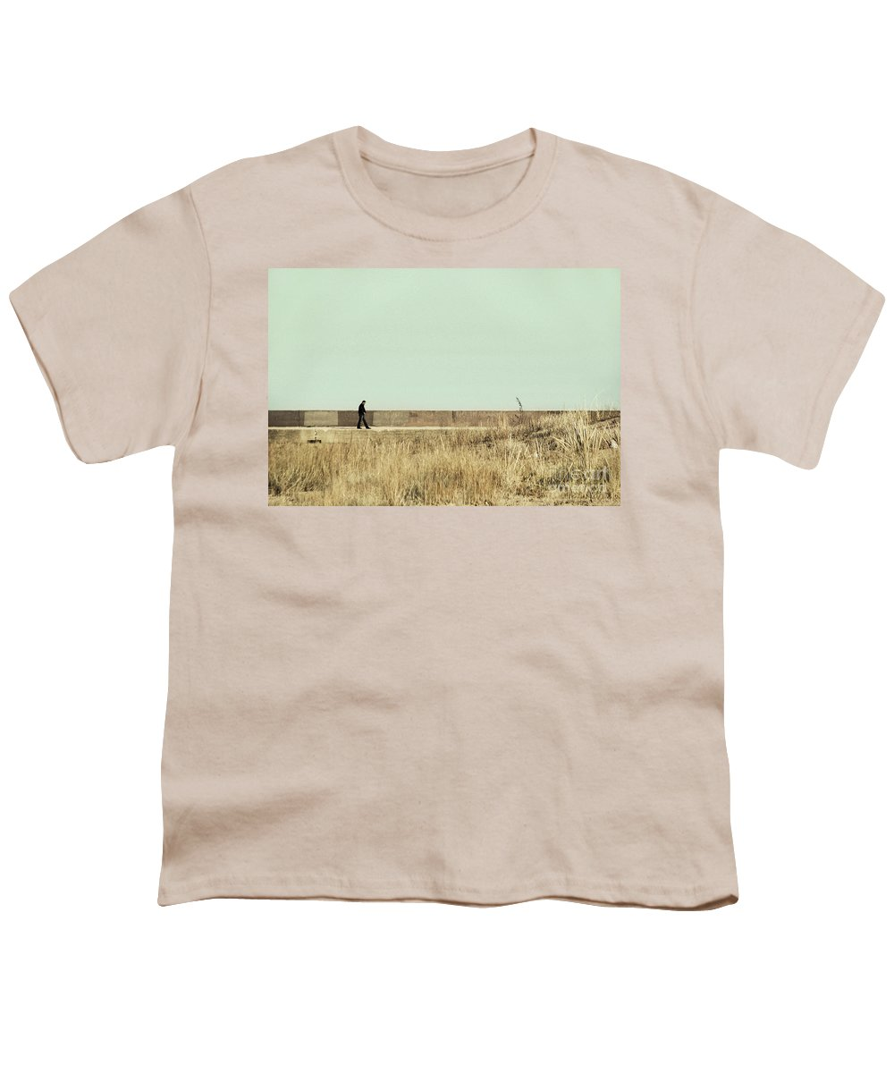 Dipasquale Youth T-Shirt featuring the photograph I Remember What We Said by Dana DiPasquale