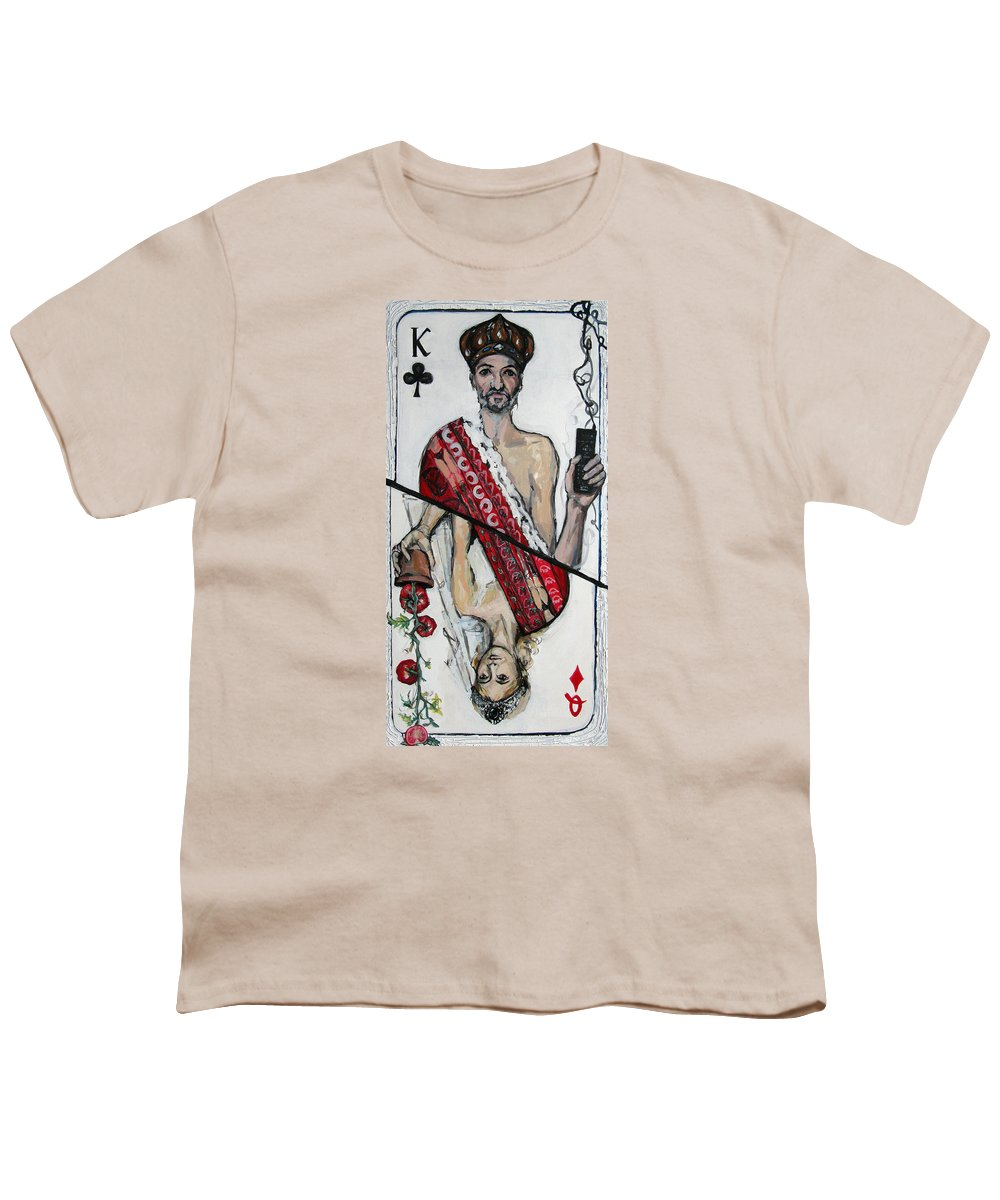 Marriage Youth T-Shirt featuring the painting Marriage by Mima Stajkovic