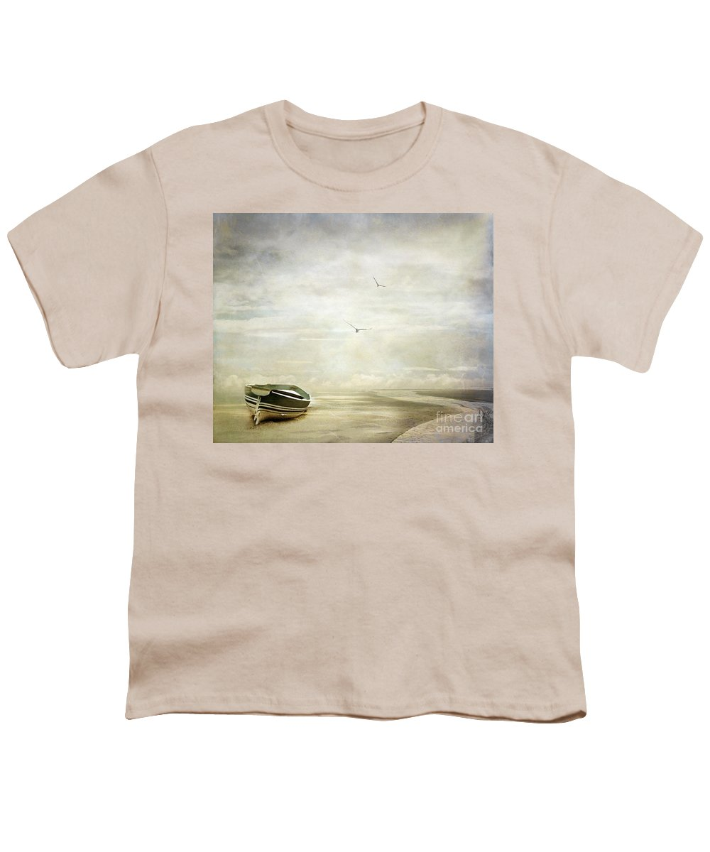 Beach Youth T-Shirt featuring the photograph Memories by Jacky Gerritsen