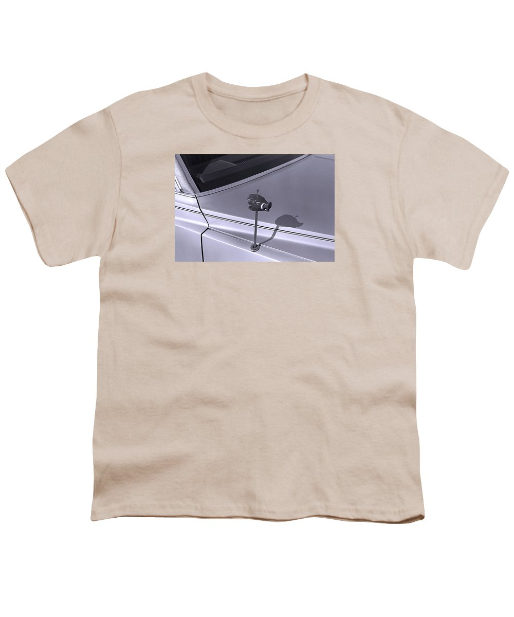 Primitive Youth T-Shirt featuring the photograph Modern Primitive by Ted M Tubbs