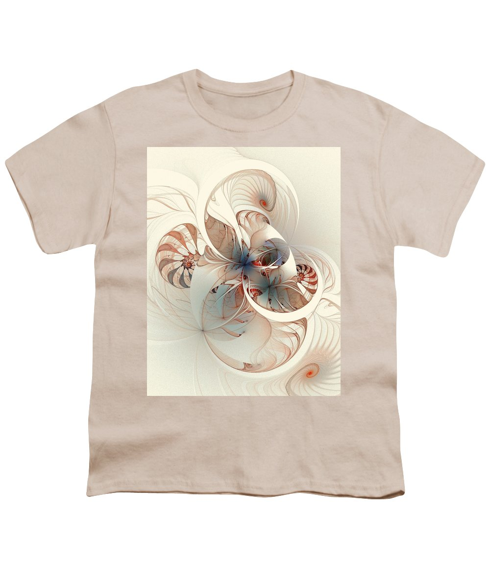 Youth T-Shirt featuring the digital art Mollusca by Amanda Moore