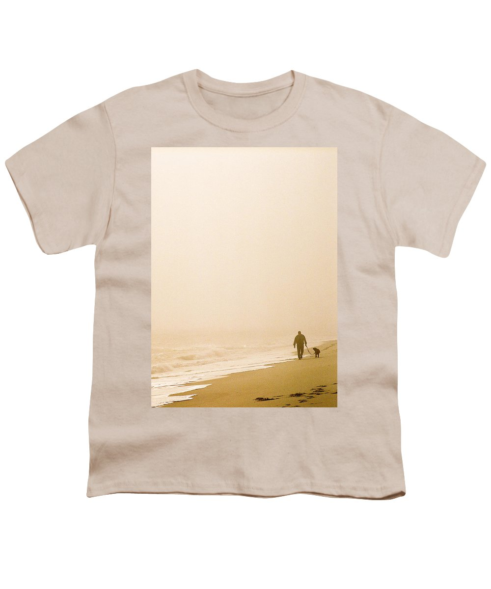 Landscape Youth T-Shirt featuring the photograph Out Of The Mist by Steve Karol