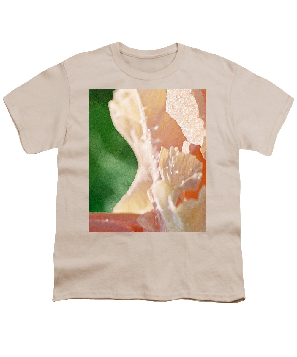 Abstract Youth T-Shirt featuring the photograph panel two from Iris by Steve Karol