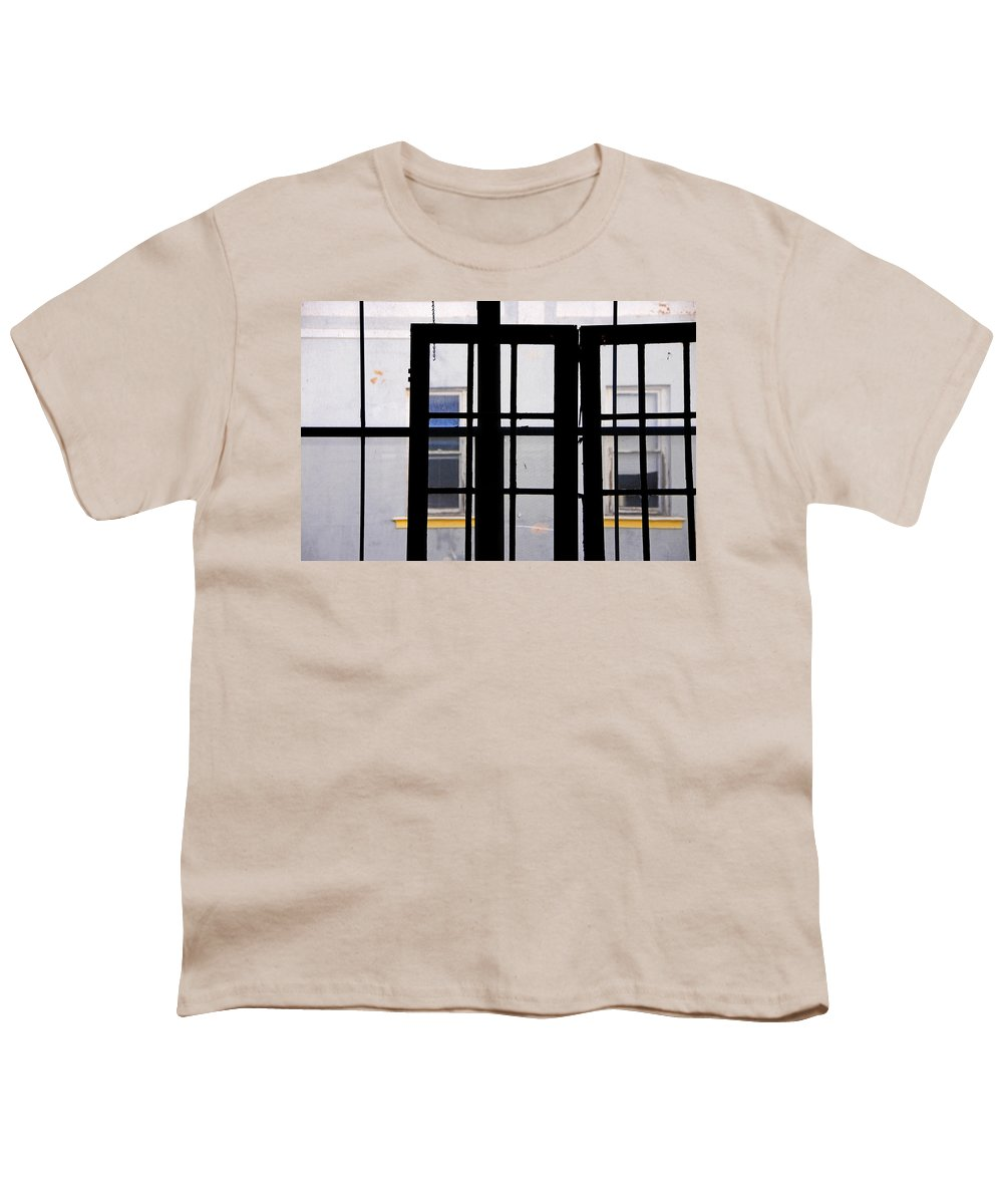 Skip Hunt Youth T-Shirt featuring the photograph Rear Window 1 by Skip Hunt