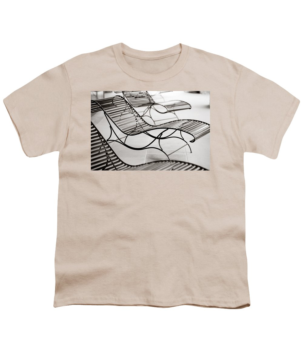 Chair Youth T-Shirt featuring the photograph Relaxation by Marilyn Hunt
