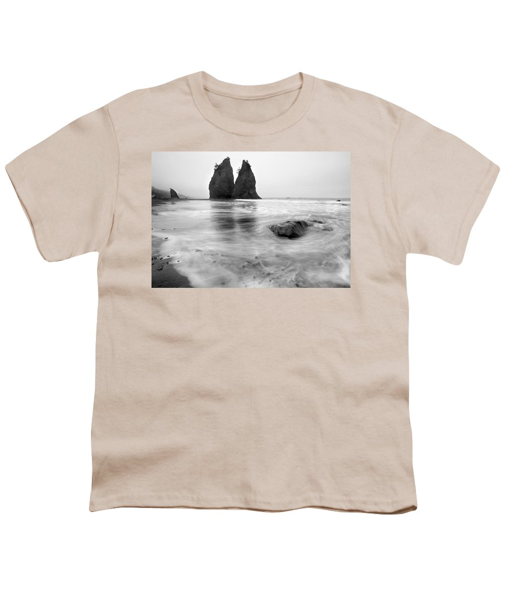 Beach Youth T-Shirt featuring the photograph Rialto Reflections by Mike Dawson