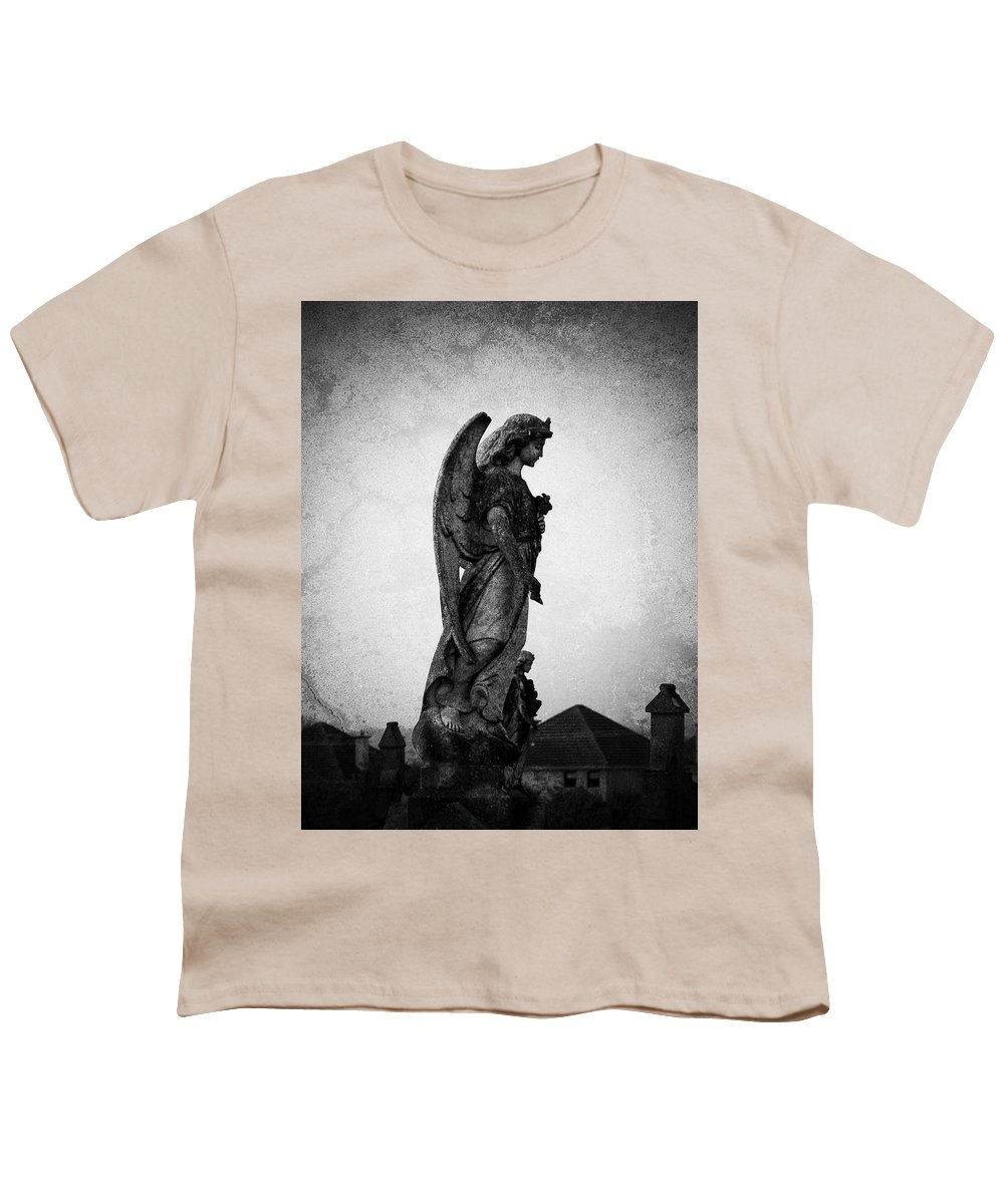 Roscommon Youth T-Shirt featuring the photograph Roscommonn Angel No 4 by Teresa Mucha