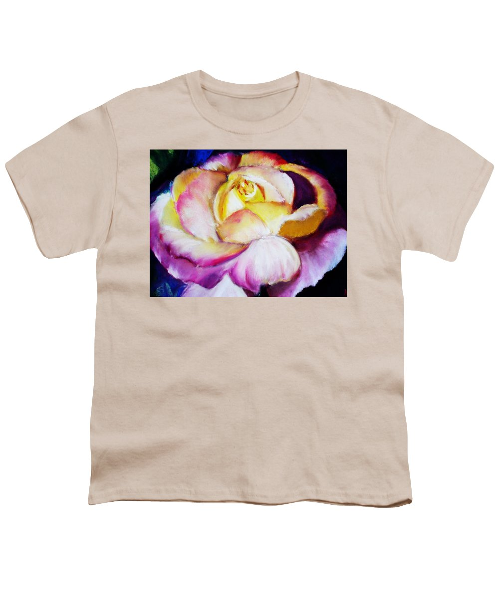 Rose Youth T-Shirt featuring the print Rose by Melinda Etzold