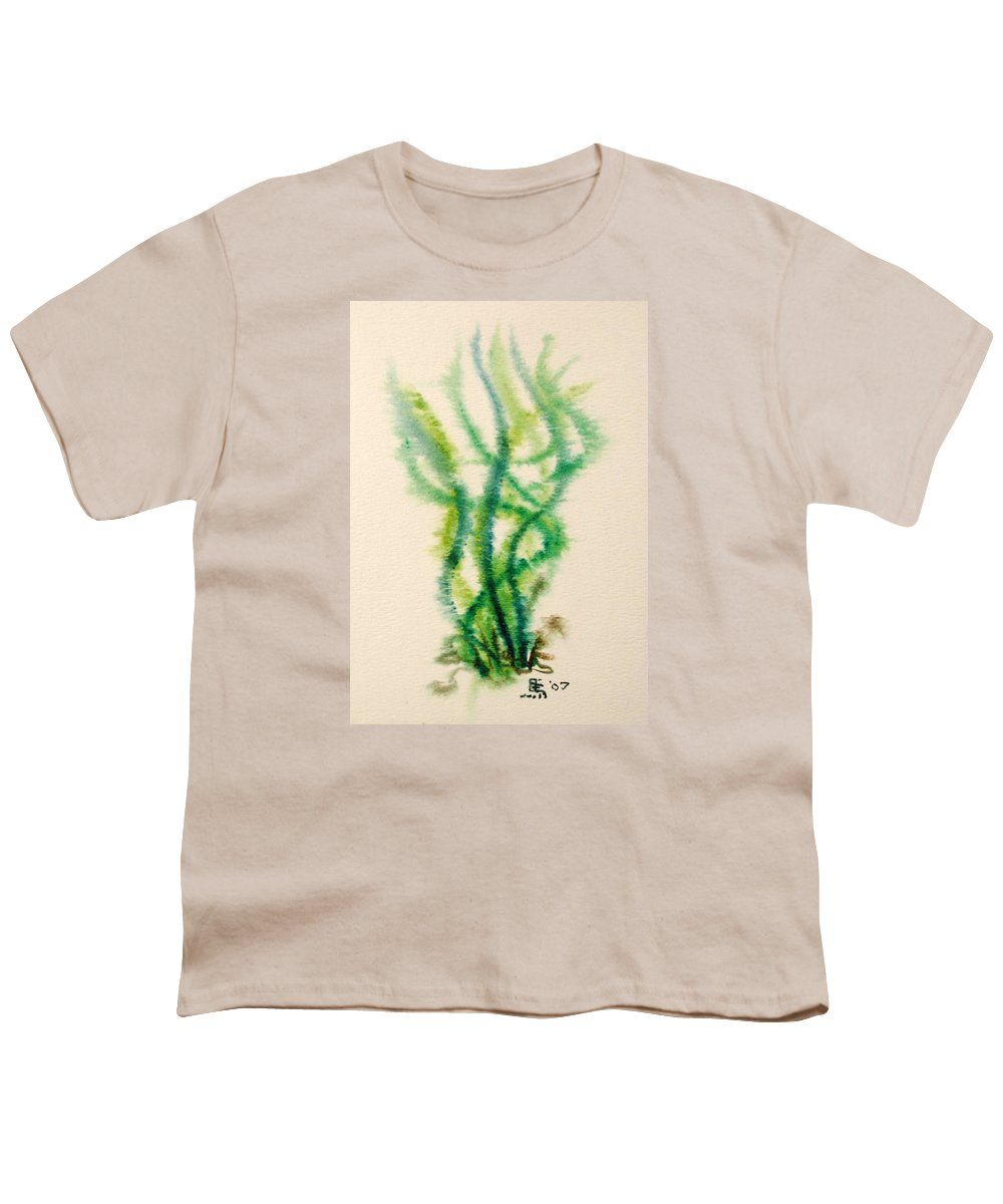 Sea Youth T-Shirt featuring the painting Sea Bed One by Dave Martsolf