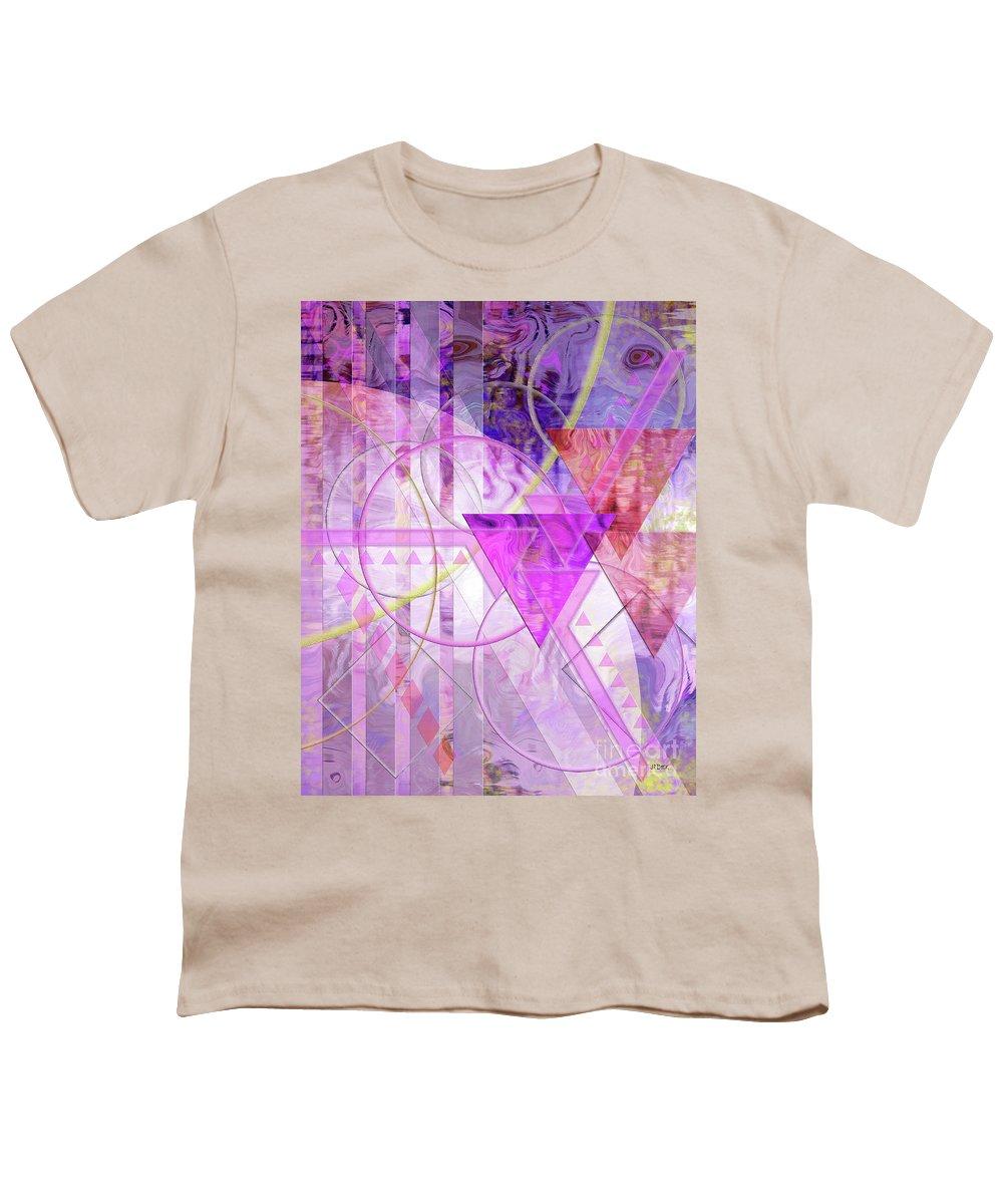 Shibumi Youth T-Shirt featuring the digital art Shibumi Spirit by John Beck