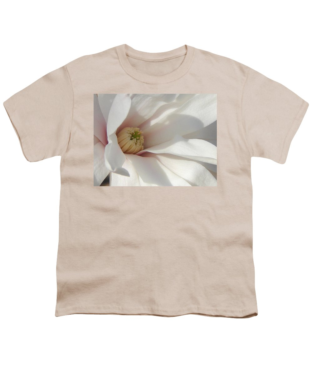 Youth T-Shirt featuring the photograph Simply White by Luciana Seymour