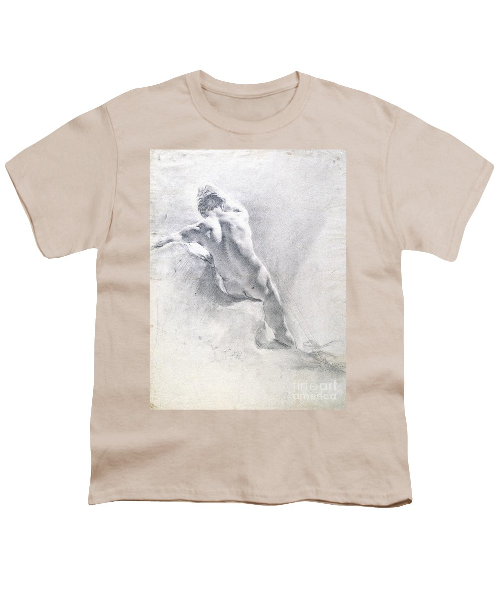 Male Nude Youth T-Shirts