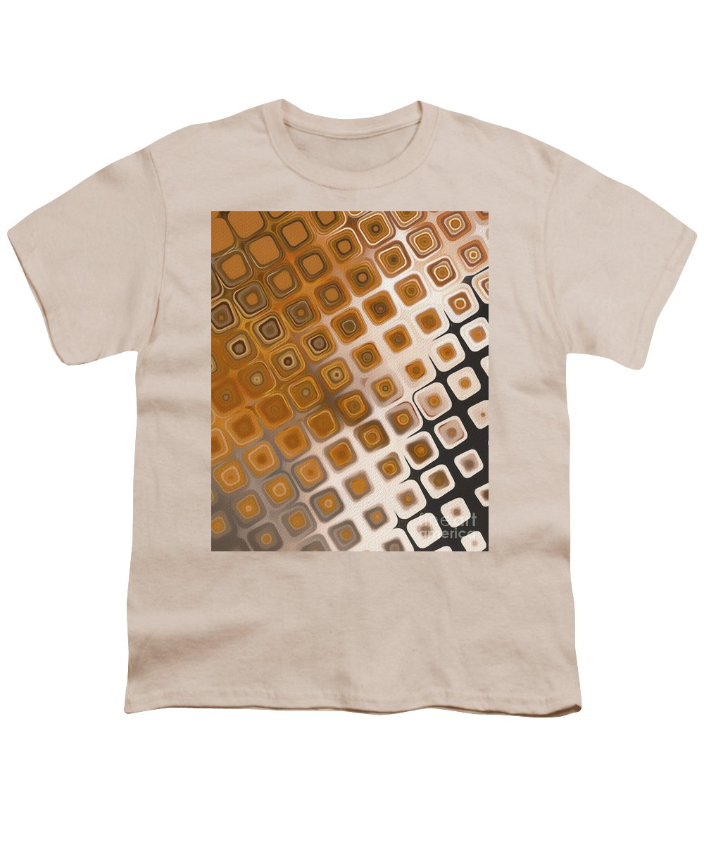 Pattern Youth T-Shirt featuring the painting The Prisoner by Esoterica Art Agency
