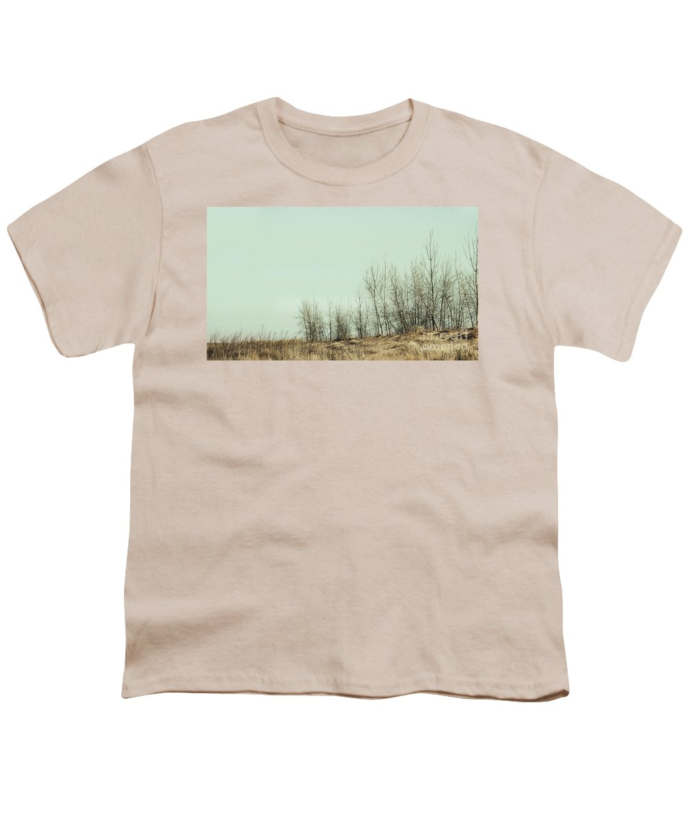Trees Youth T-Shirt featuring the photograph The Things We Should Have Done To End Up Somewhere Else by Dana DiPasquale
