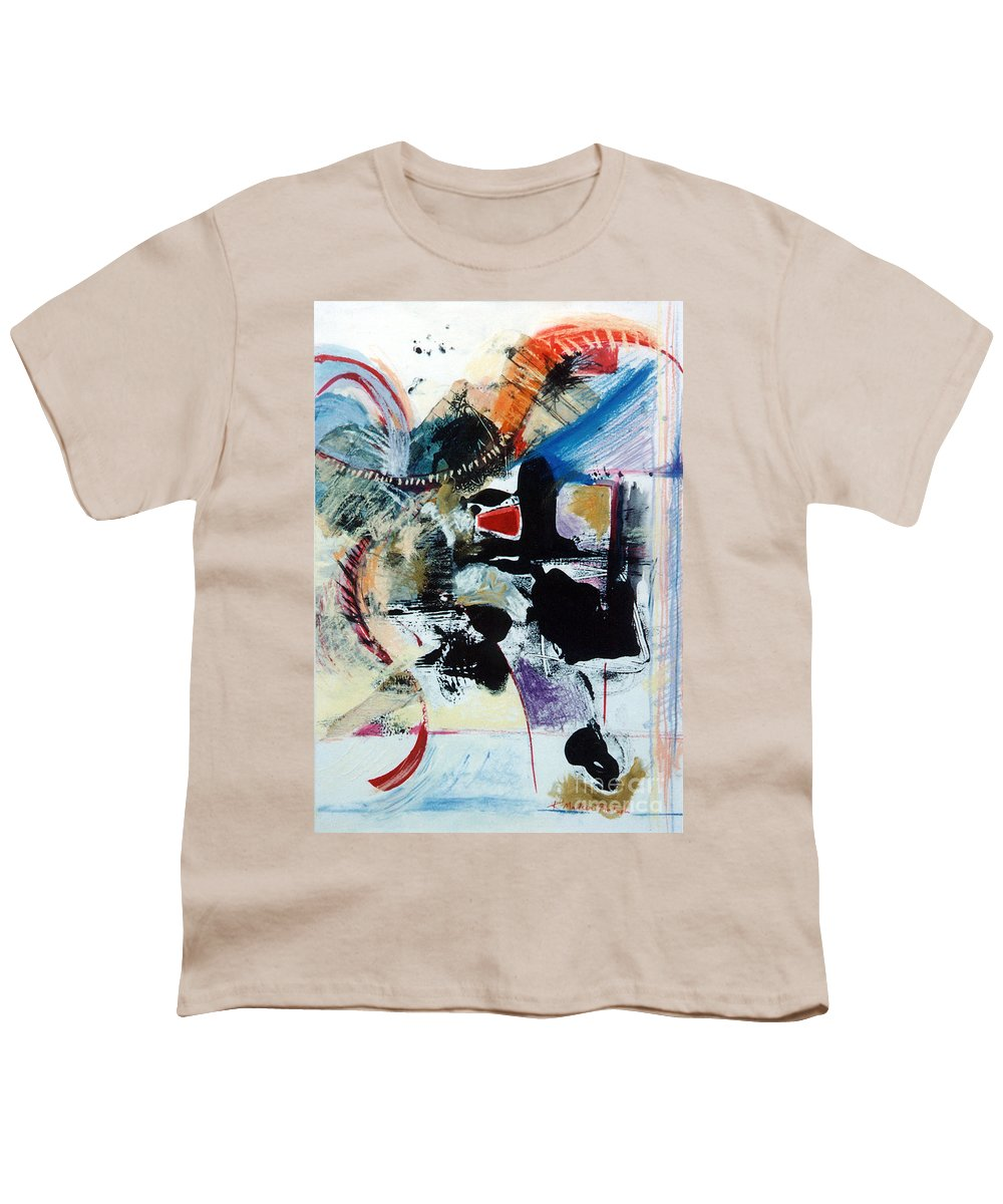 Transcendance Youth T-Shirt featuring the drawing Transcendance by Kerryn Madsen-Pietsch