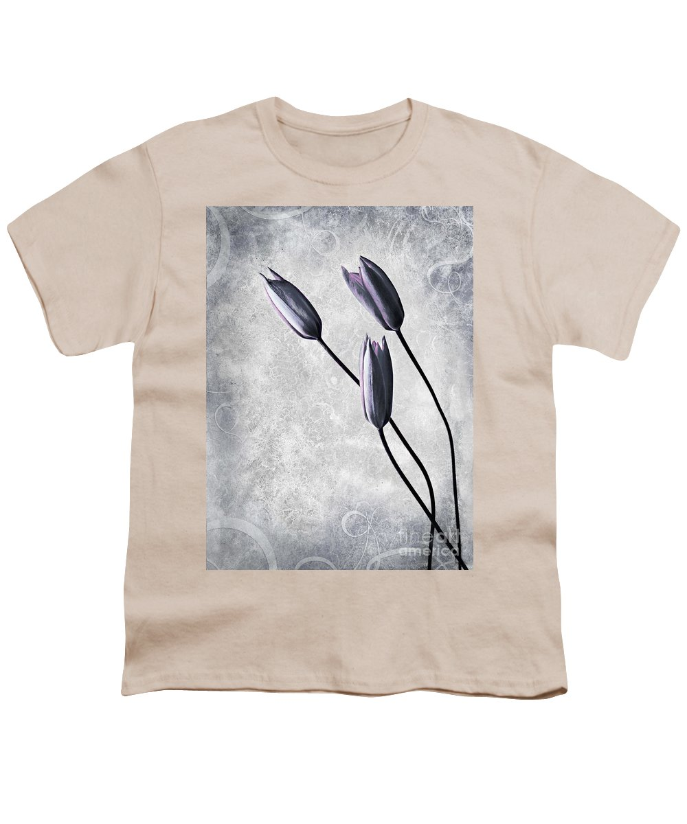 Flowers Youth T-Shirt featuring the photograph Tulips by Jacky Gerritsen