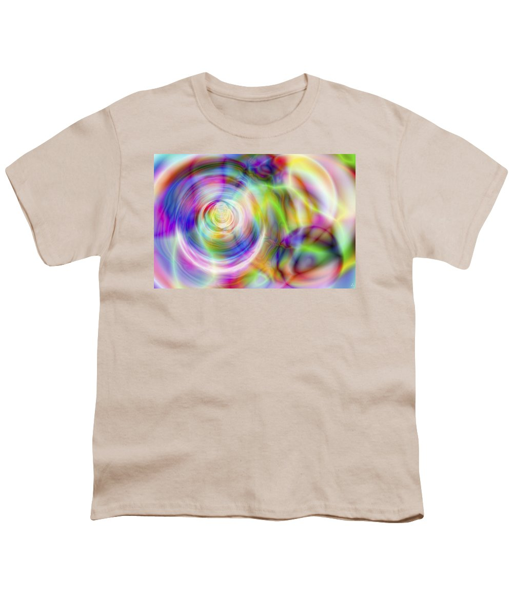 Crazy Youth T-Shirt featuring the digital art Vision 7 by Jacques Raffin