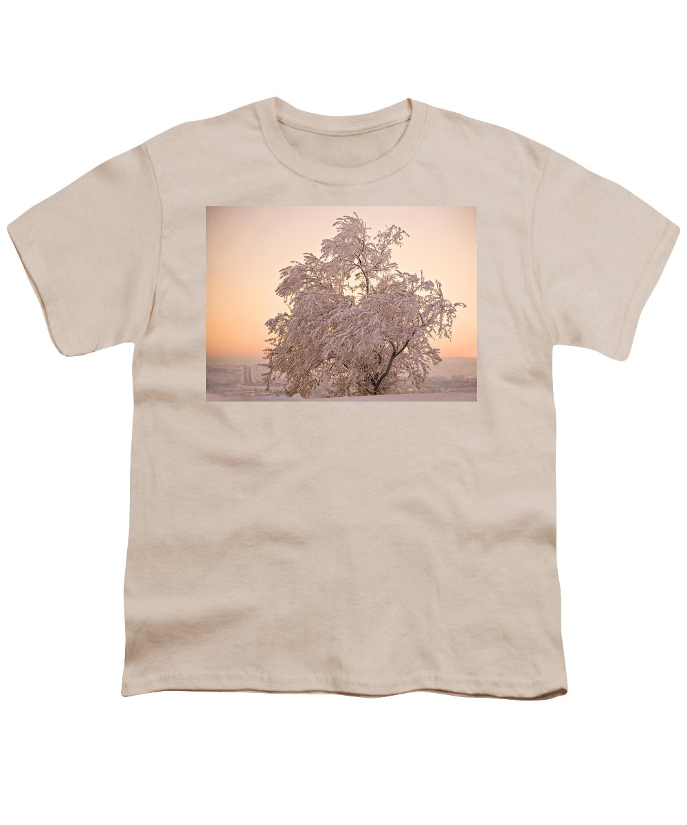 Winter Youth T-Shirt featuring the photograph Winter Sunset by Marilyn Hunt