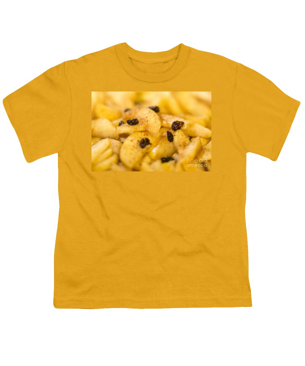 Apple Pie Filling Youth T-Shirt featuring the photograph Delicious Applemedley by Iris Richardson