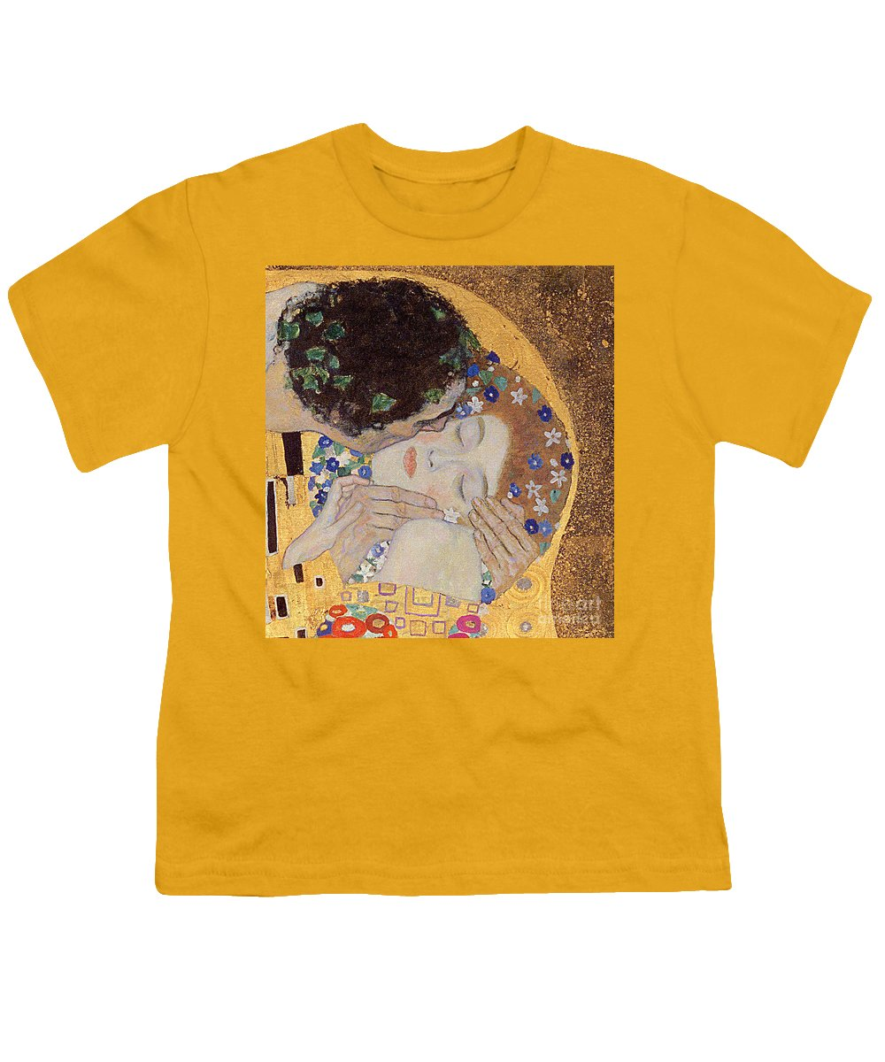 The Kiss Youth T Shirt For Sale By Gustav Klimt