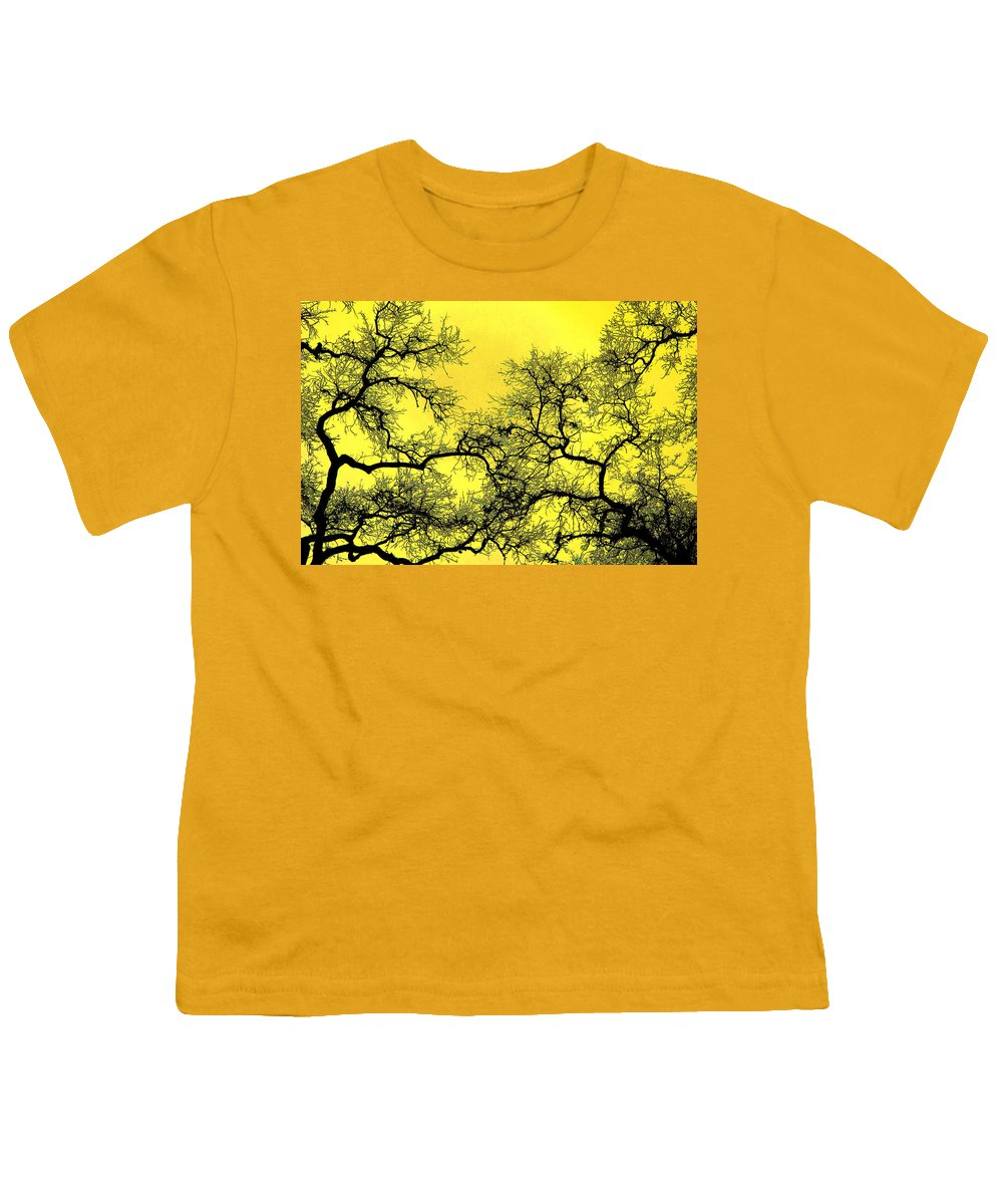 Digital Art Youth T-Shirt featuring the photograph Tree Fantasy 18 by Lee Santa