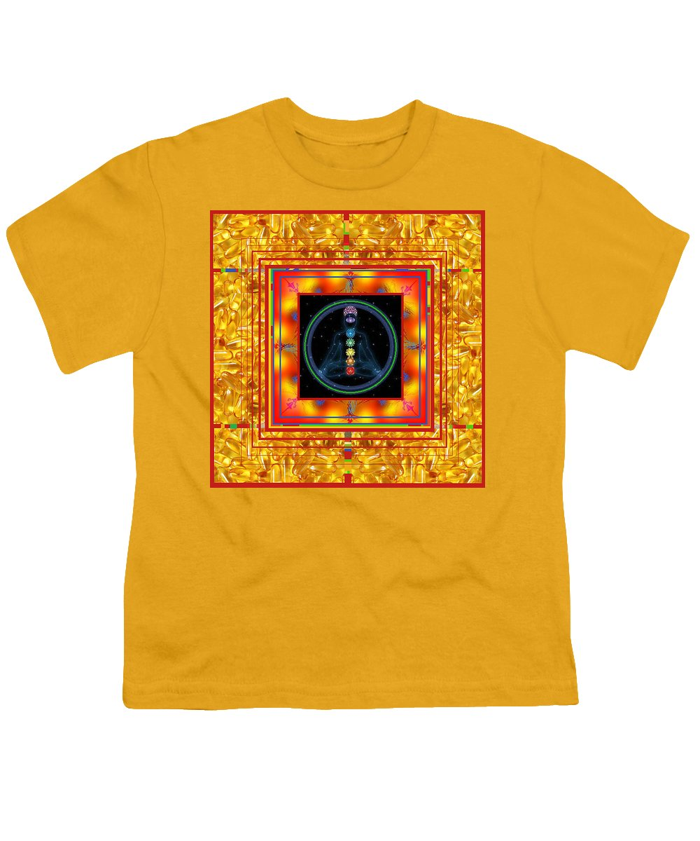 Youth T-Shirt featuring the digital art Find Your Mind by Kenneth A Post