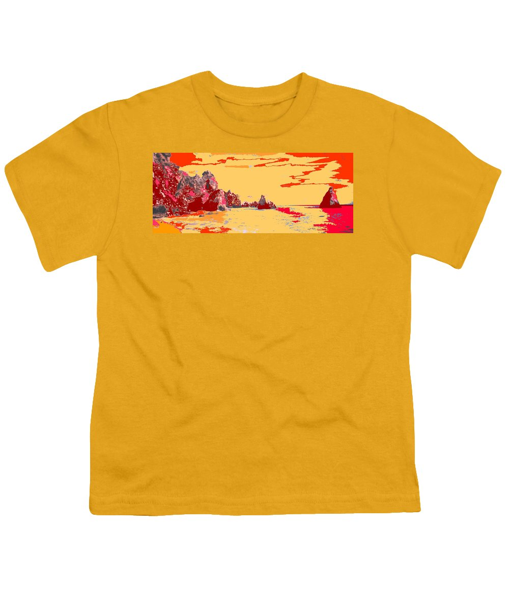 Mediterranean Youth T-Shirt featuring the photograph Algarve Sunrise by Ian MacDonald