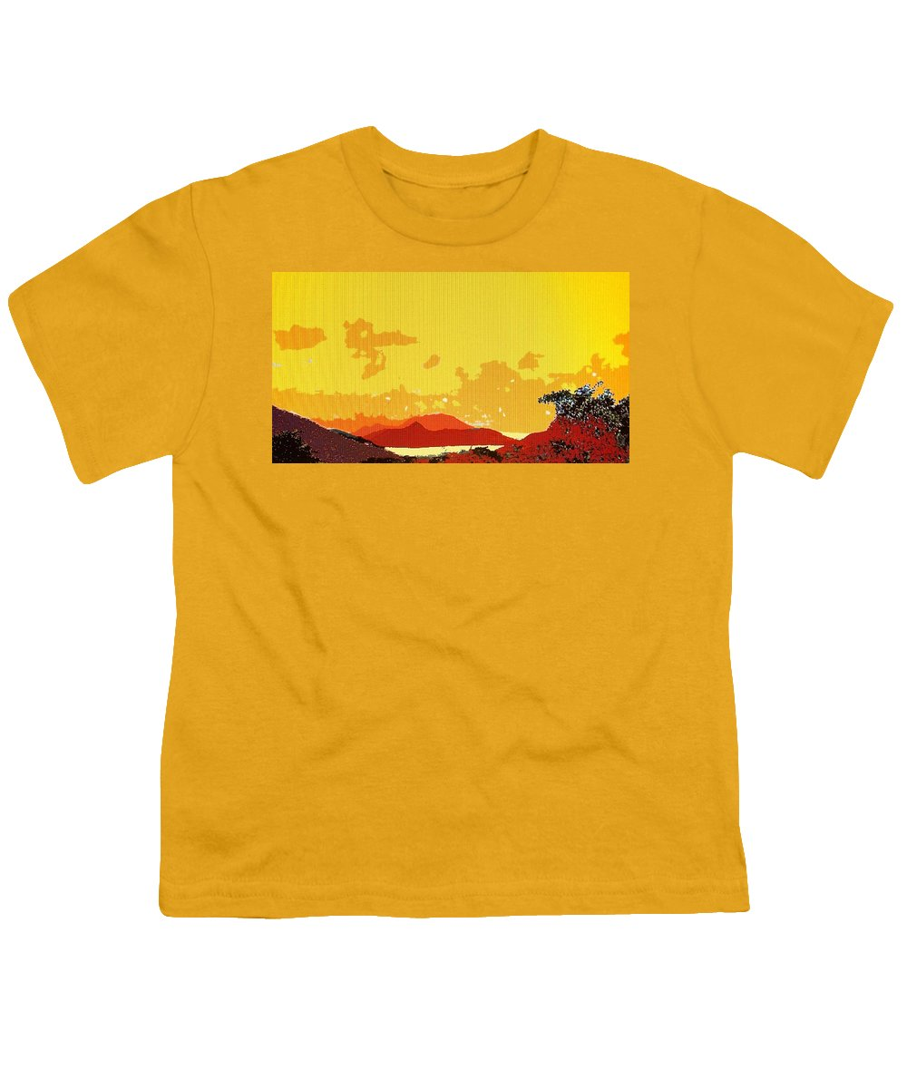 Caribbean Youth T-Shirt featuring the photograph Caribbean Sky by Ian MacDonald