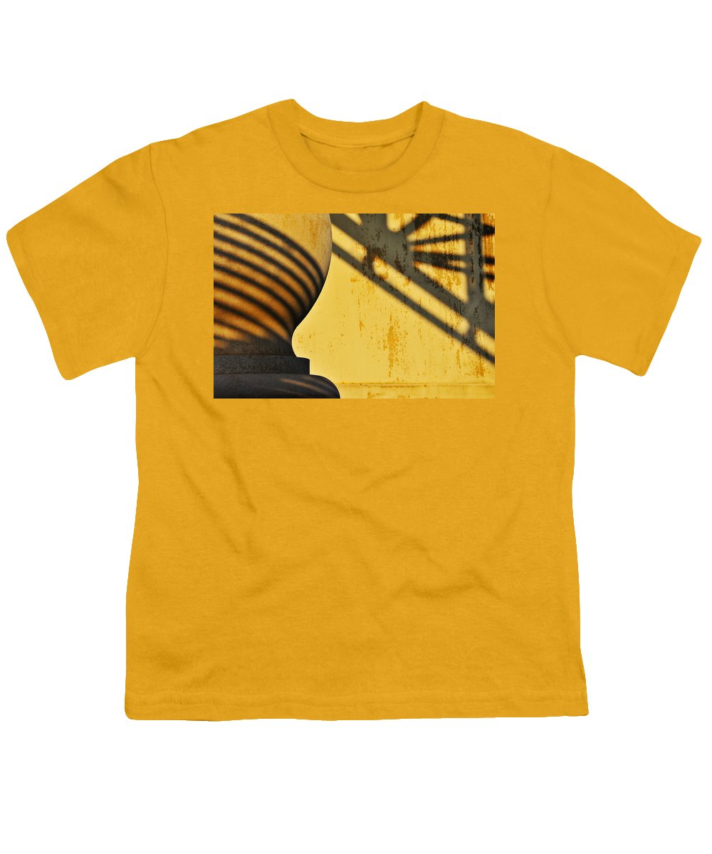 Architecture Youth T-Shirt featuring the photograph Comb Over by Skip Hunt