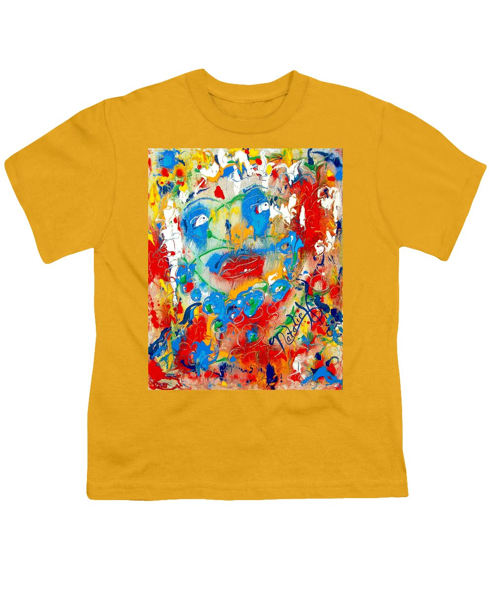 Woman Youth T-Shirt featuring the painting Fantasia by Natalie Holland