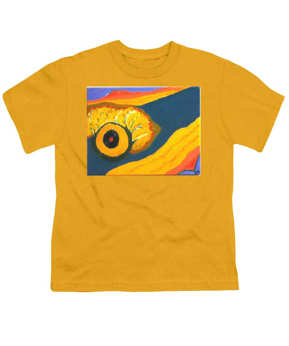 Youth T-Shirt featuring the painting Krshna by R B