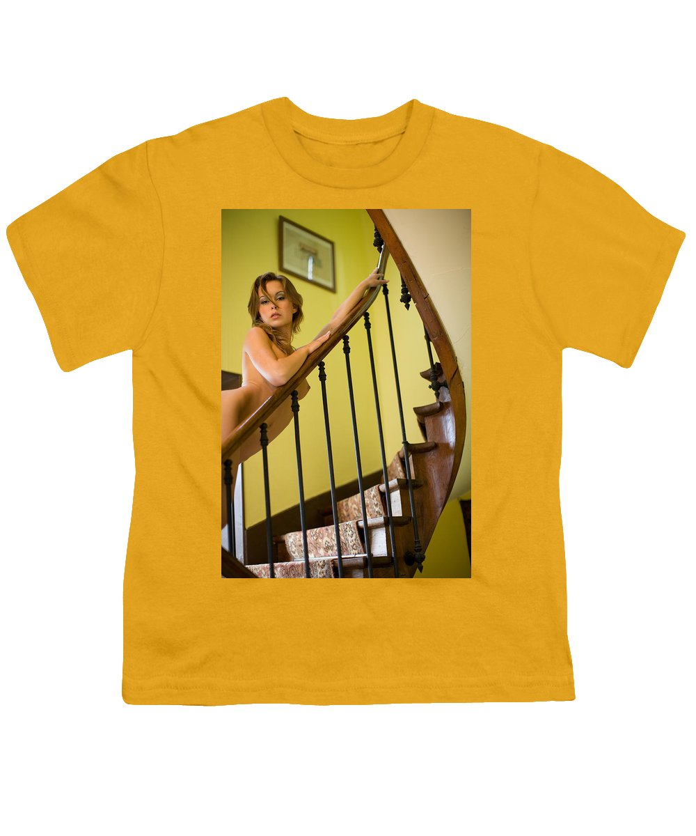 Sensual Youth T-Shirt featuring the photograph Marie by Olivier De Rycke