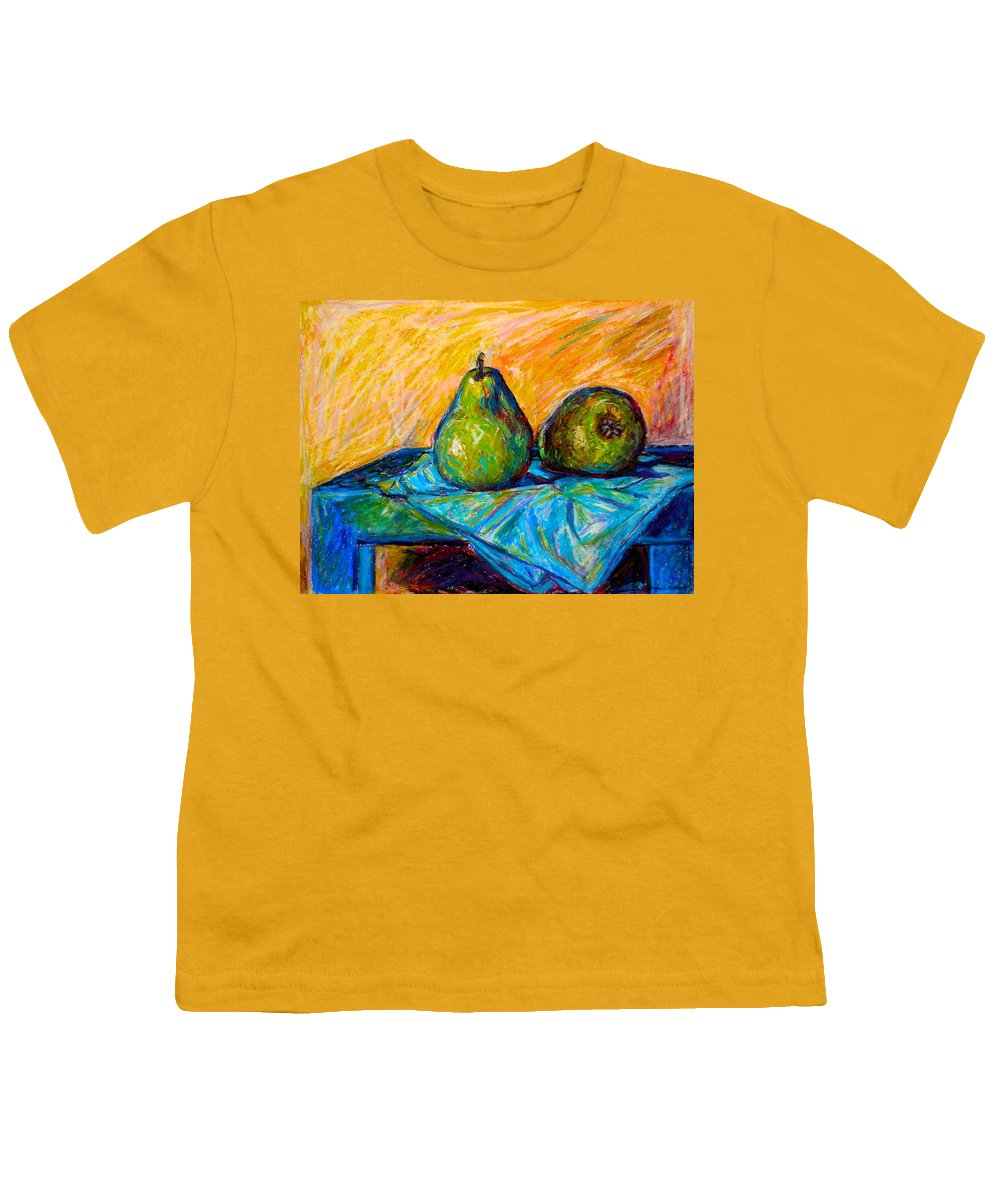 Still Life Youth T-Shirt featuring the painting Other Pears by Kendall Kessler