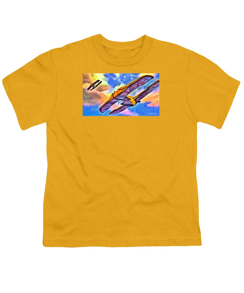 Star Wars Transport Ship Youth T-Shirt
