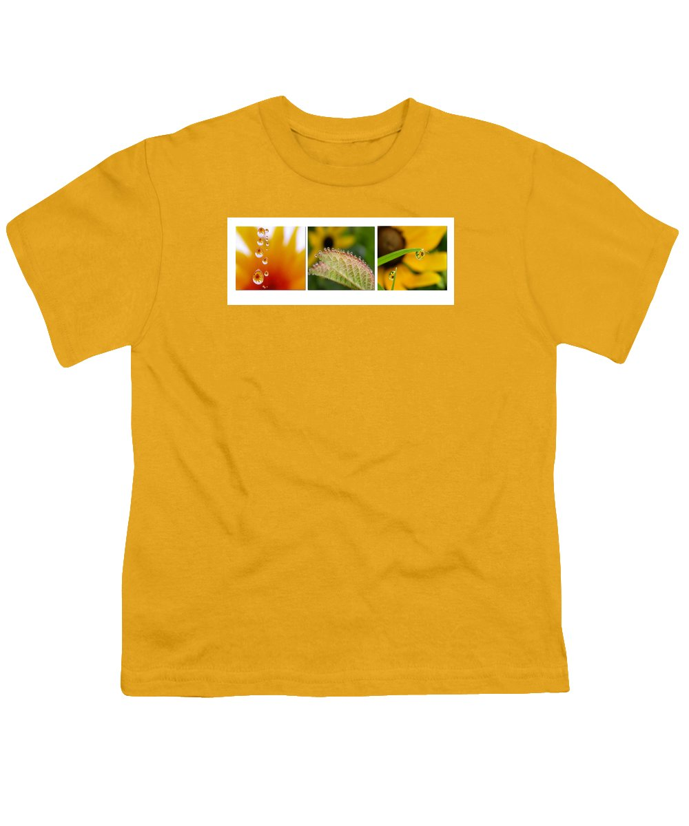 Dew Youth T-Shirt featuring the photograph Tiny Miracles by Linda Murphy