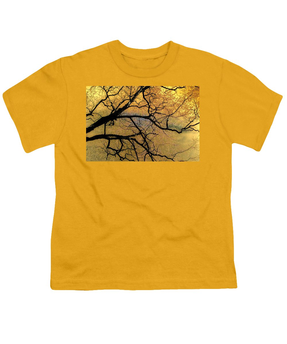 Scenic Youth T-Shirt featuring the photograph Tree Fantasy 7 by Lee Santa