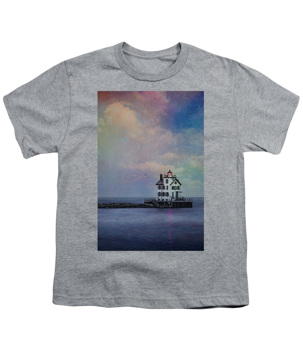 Beacon Of Light Youth T-Shirt featuring the photograph Beacon Of Light by Dale Kincaid