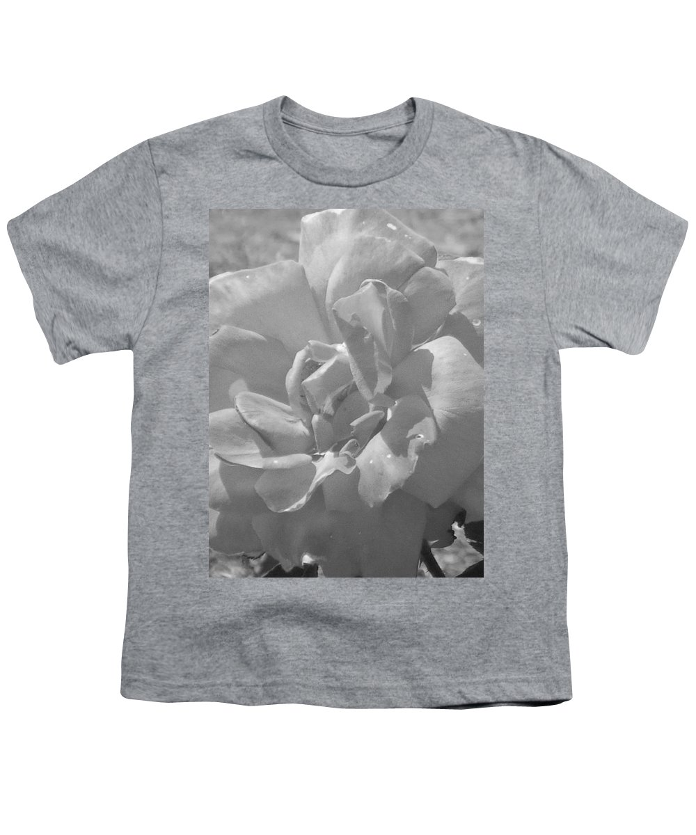 Rose Youth T-Shirt featuring the photograph Dew Rose by Pharris Art