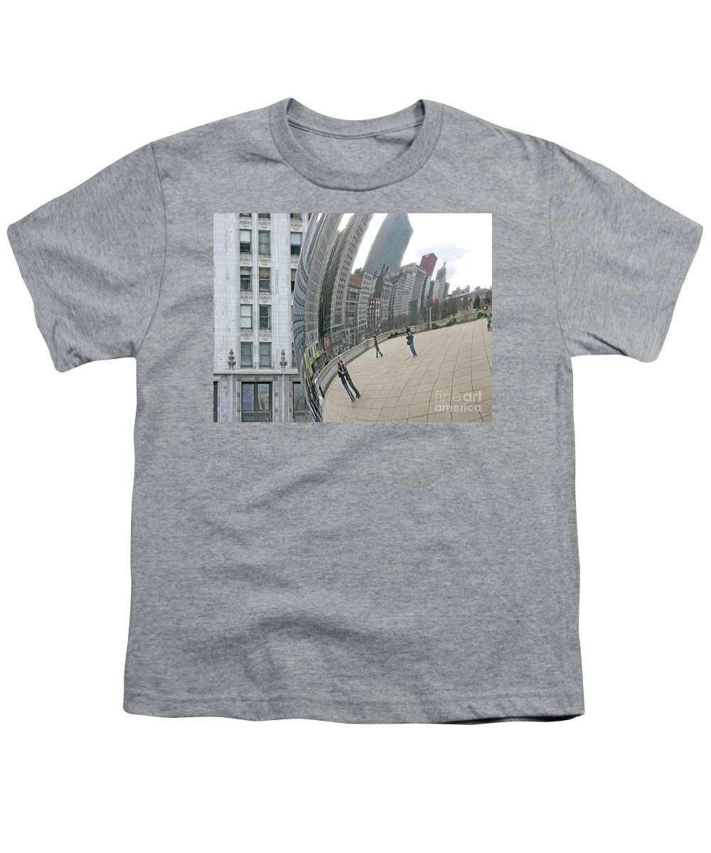 Chicago Youth T-Shirt featuring the photograph Imaging Chicago by Ann Horn