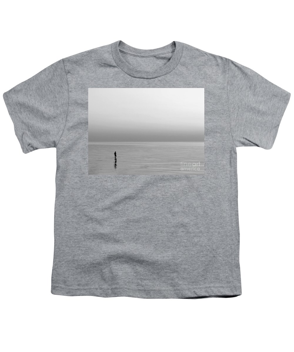 Lake Youth T-Shirt featuring the photograph One Man by Dana DiPasquale