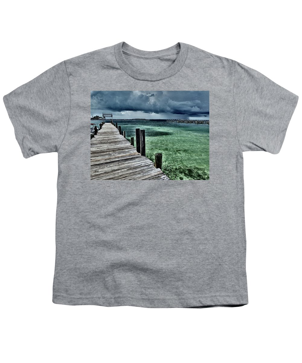 Caribbean Youth T-Shirt featuring the photograph Abaco Islands, Bahamas by Cindy Ross