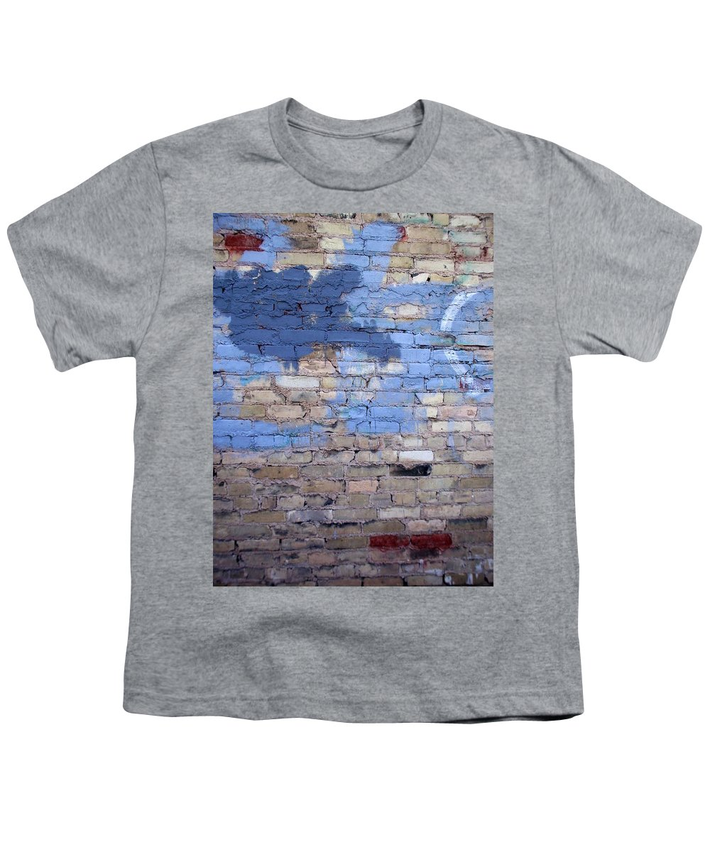 Industrial Youth T-Shirt featuring the photograph Abstract Brick 3 by Anita Burgermeister