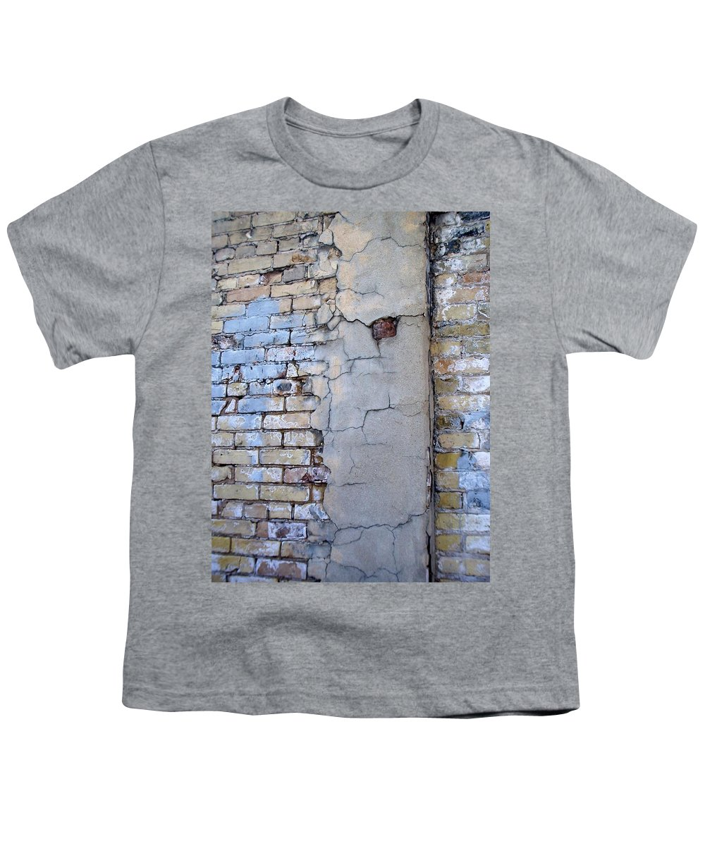 Industrial Youth T-Shirt featuring the photograph Abstract Brick 4 by Anita Burgermeister