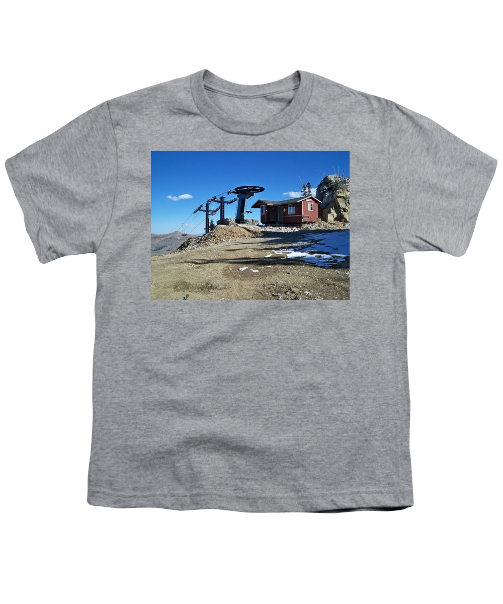 Landscape Youth T-Shirt featuring the photograph Anticipation by Michael Cuozzo