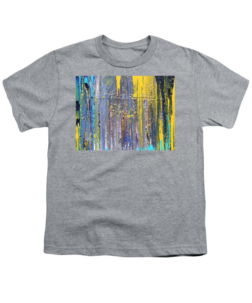 Fusionart Youth T-Shirt featuring the painting Arachnid by Ralph White