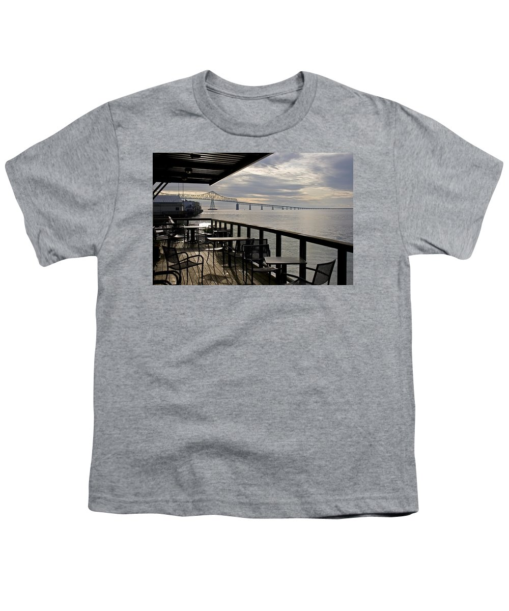 Scenic Youth T-Shirt featuring the photograph Astoria by Lee Santa