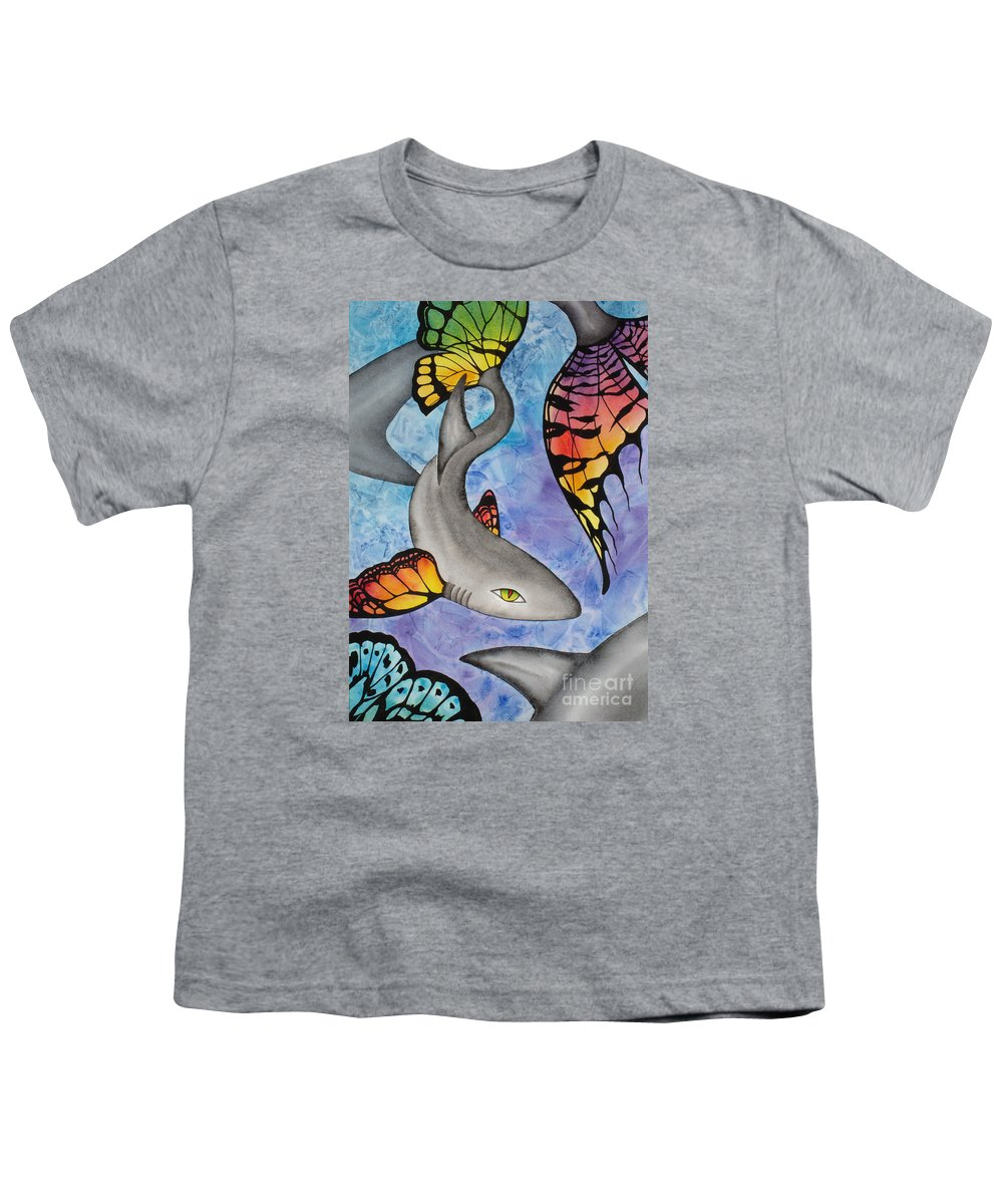 Surreal Youth T-Shirt featuring the painting Beauty In The Beasts by Lucy Arnold