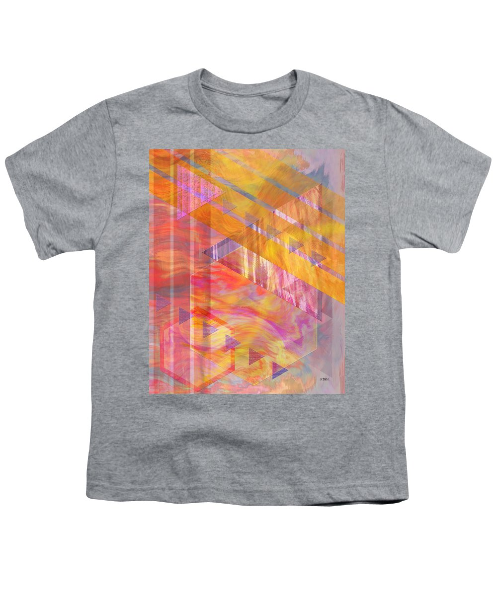 Affordable Art Youth T-Shirt featuring the digital art Bright Dawn by John Beck