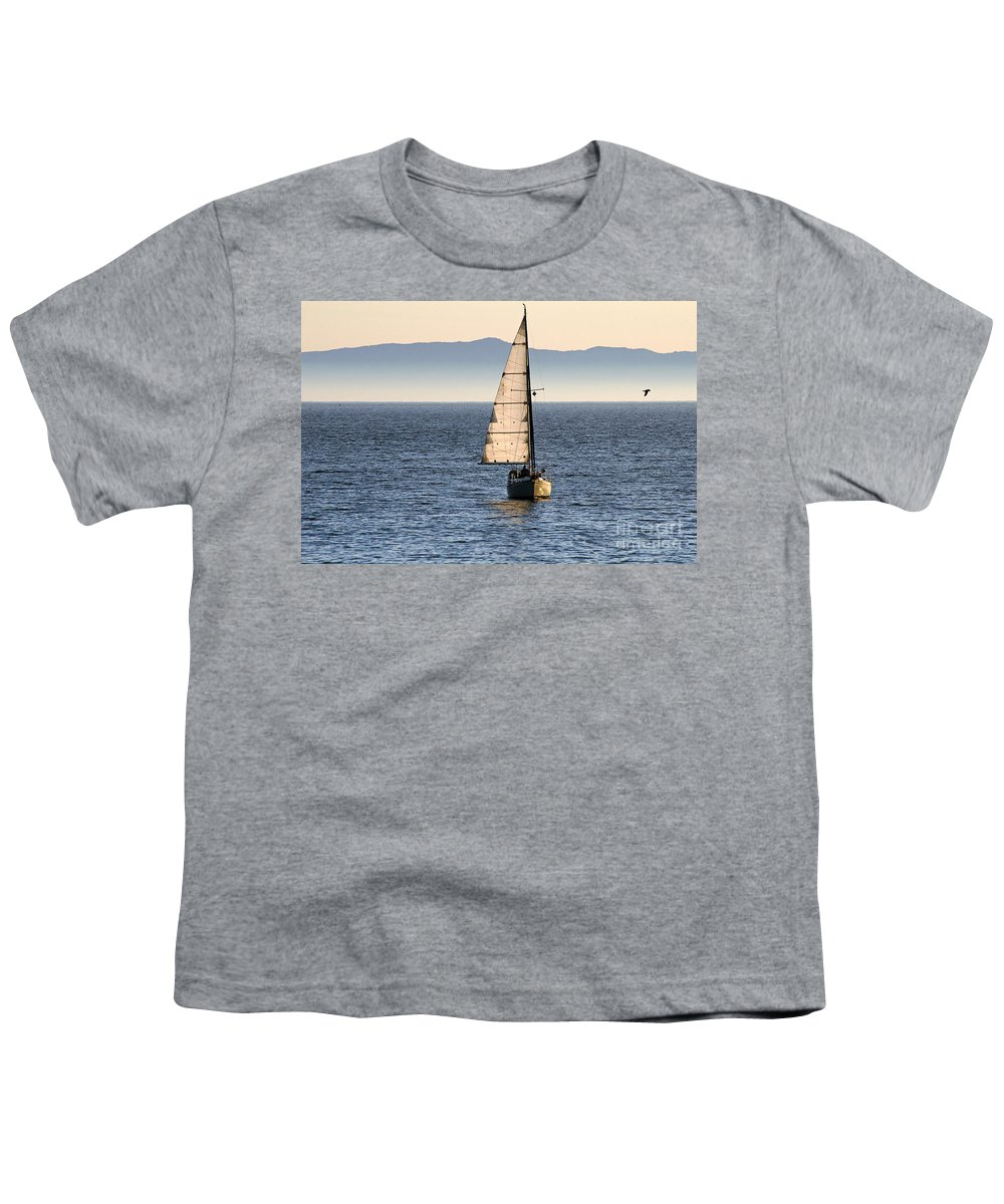 Clay Youth T-Shirt featuring the photograph Chasing The Mist by Clayton Bruster